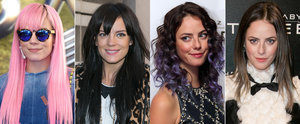 Taste the Rainbow! Do These Celebs Look Better With Wildly Coloured Hair or a More Natural Hue?