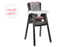 Recall Alert! Safety 1st Décor Wood High Chairs