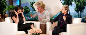 Selena Gomez Gets Not 1 but 2 Amazing Scares on The Ellen DeGeneres Show