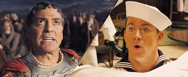 See George Clooney and Channing Tatum in the Latest Coen Brothers Movie