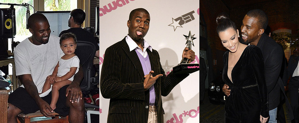 16 Times Kanye West Looked Deliriously Happy
