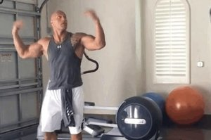 Watching The Rock Dance Is The Only Thing You Need To Do Today