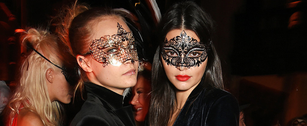 Kendall Jenner and Cara Delevingne Go Sexy For a Night Out