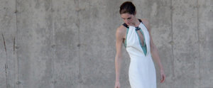 If You Think Hilary Rhoda's Wedding Dress Is Surprising, Wait Until You See the Bridesmaids