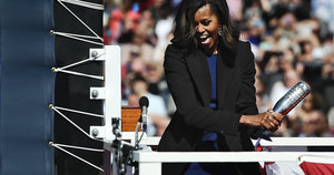 Michelle Obama Shows Off Her Smashing Skills In Hilarious Vine