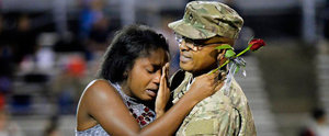 This Dad Soldier Surprising His Daughter on Homecoming Has Us in Tears