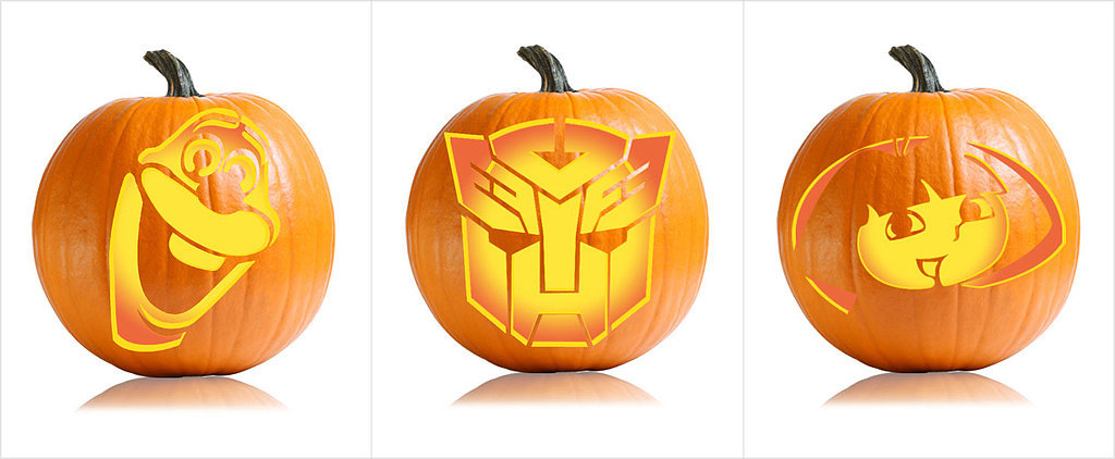 26 Pumpkin Carving Ideas For Your Little Cartoon-Lover