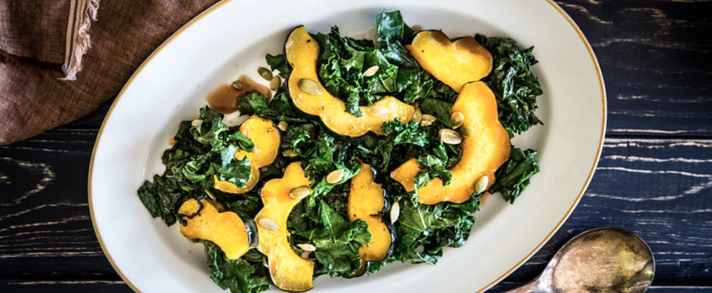 Kale and Roasted Squash Come Together in This Warm and Cozy Salad