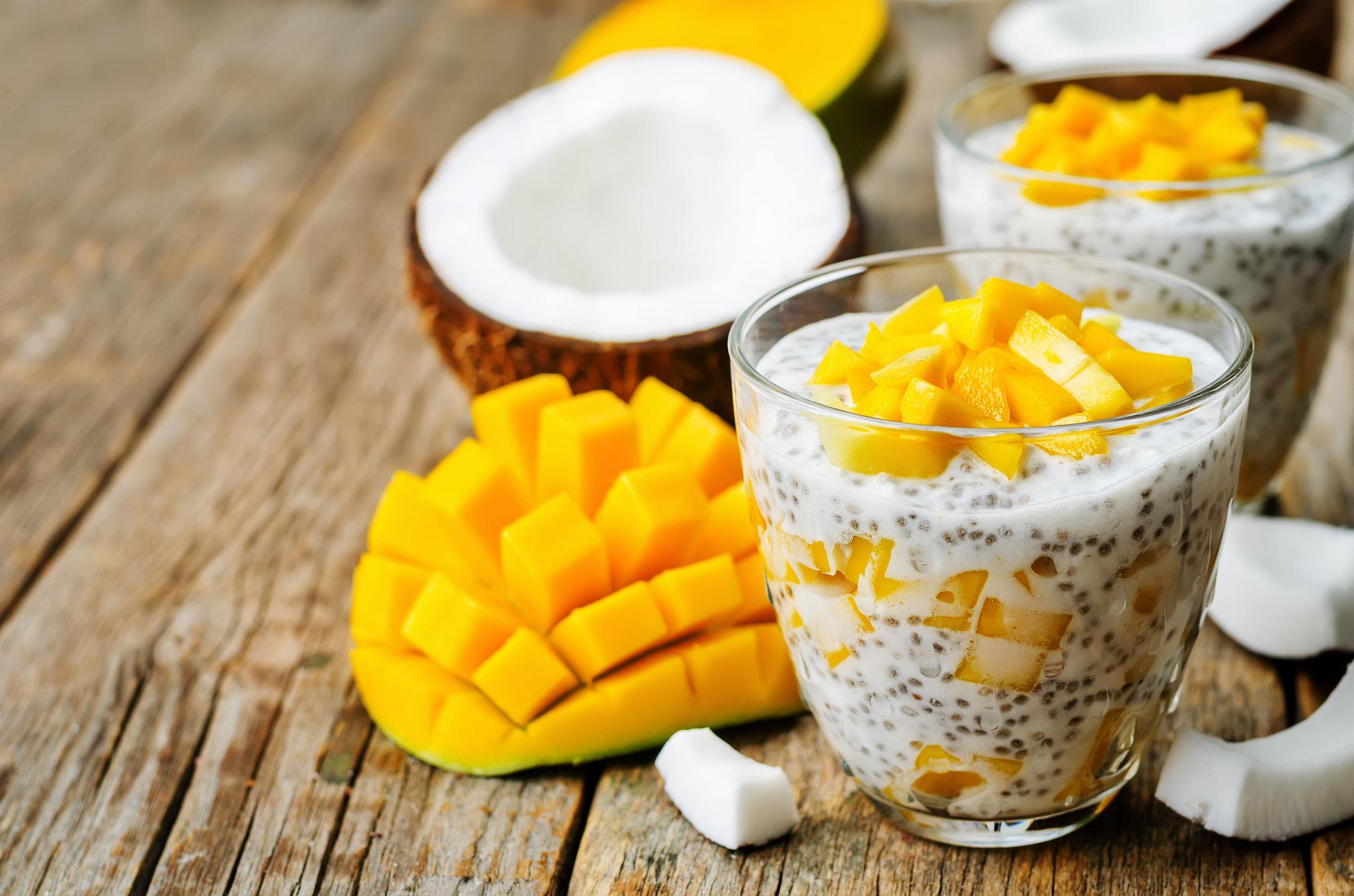 Gluten Free, Paleo Chia Pudding Recipe | POPSUGAR Fitness Australia
