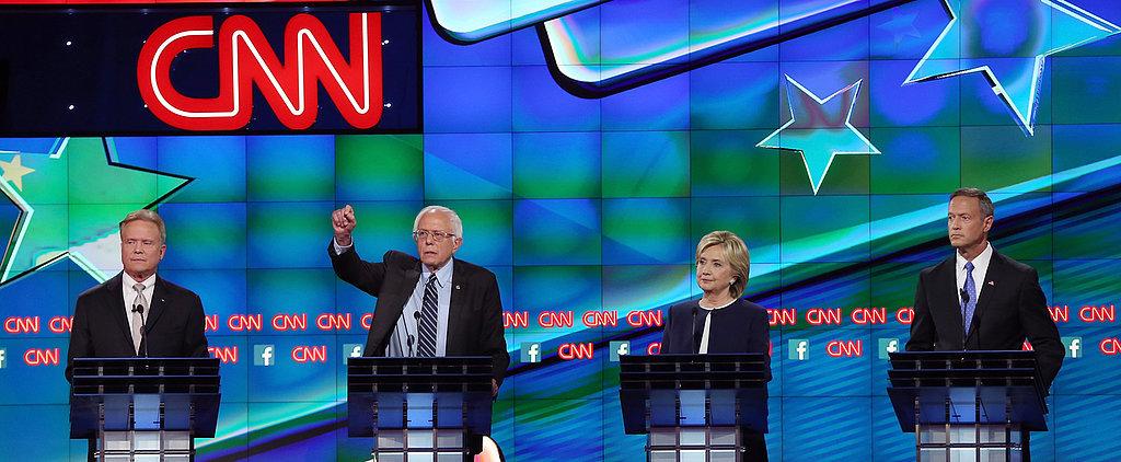 This Is the Coolest Way to Recap Last Night's Democratic Debate