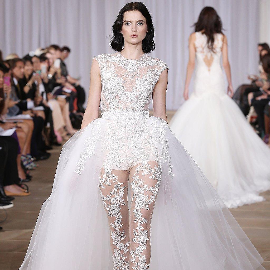 Nontraditional Wedding Dresses Bridal Fashion Week Fall