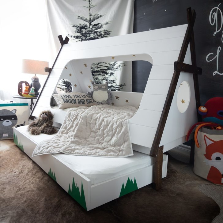 Diy Tepee Kids Bed Popsugar Home