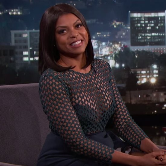 Taraji P. Henson on Jimmy Kimmel Live October 2015