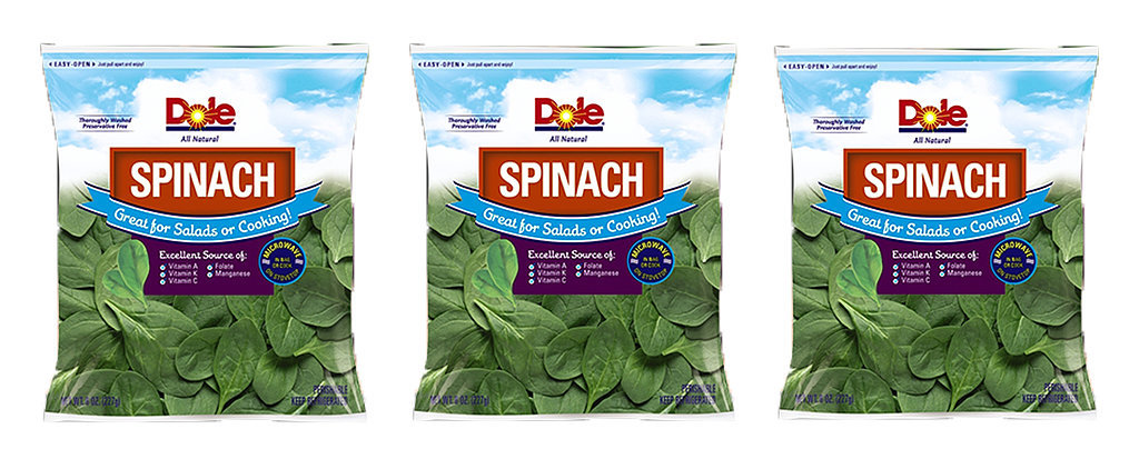 Dole Spinach Is Being Recalled For Possible Salmonella Risk