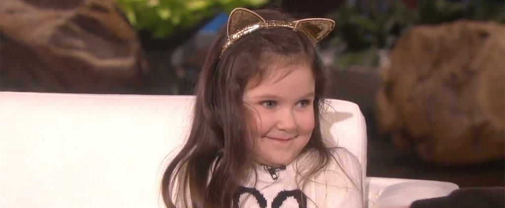 Watch This 4-Year-Old Cancer Survivor Get Her Dream Guest Spot on The Ellen Show