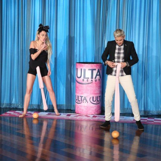 Miley Cyrus Wrecking Ball Game Ellen DeGeneres