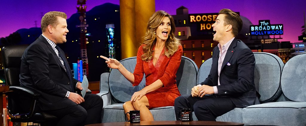 According to James Corden, This Is Why Cindy Crawford Is Impossible to Interview