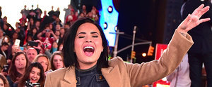 """Watch Demi Lovato's Surprise Times Square Performance of """"Confident"""""""
