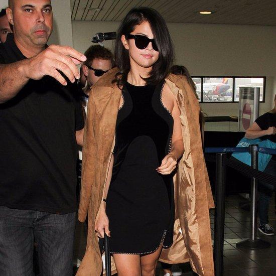 Demi Lovato and Selena Gomez Wear Camel Coats