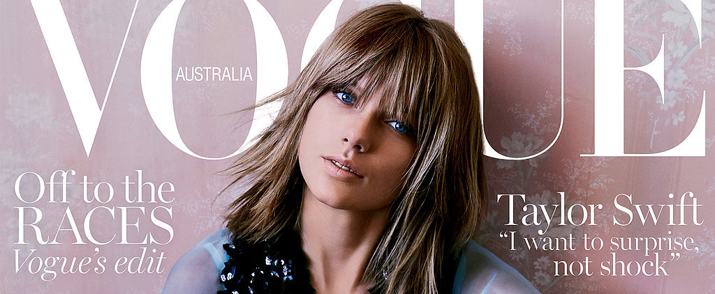 Taylor Swift Looks Picture Perfect on the Cover of Vogue Australia