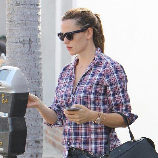 Jennifer Garner and Ben Affleck Running Errands in LA
