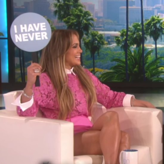 Jennifer Lopez Playing Games on The Ellen DeGeneres Show