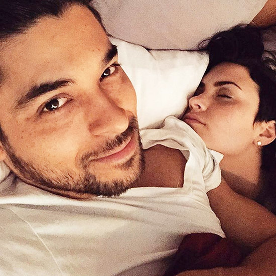 'Payback!' Wilmer Valderrama Posts Sleeping Selfie of Girlfriend Demi Lovato