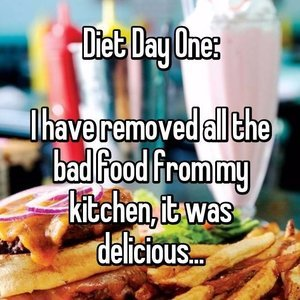 Funny Diet Confessions