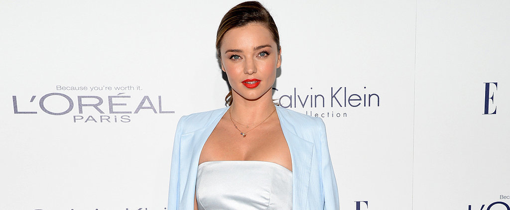 Miranda Kerr Just Gave Us Some Serious Carrie Bradshaw Flashbacks