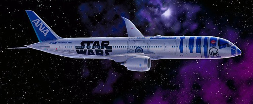 Star Wars Airplane Is Totally a Geek's Dream Come True