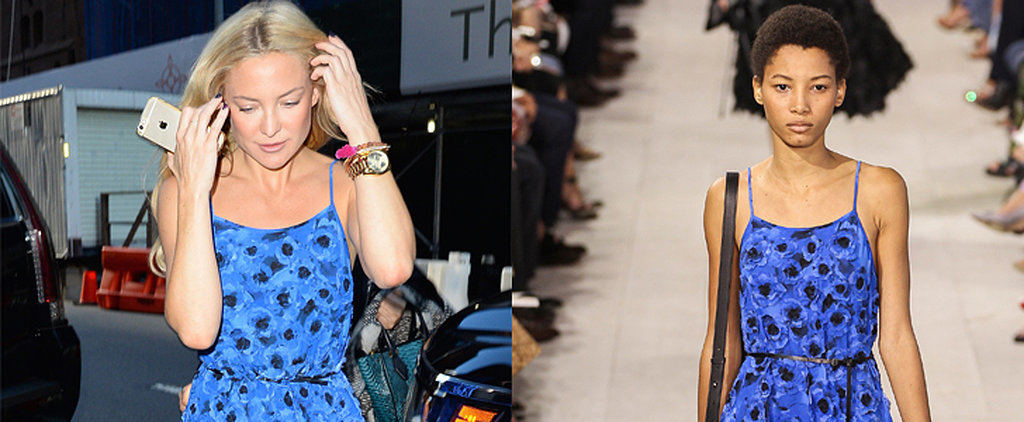 These Stars Have Been Shopping Their Outfits Right Off the Runway