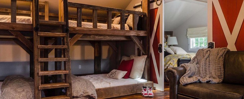Barn-Inspired Kids' Room