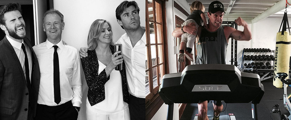 Chris Hemsworth's Instagram Game Is as Strong as His Biceps