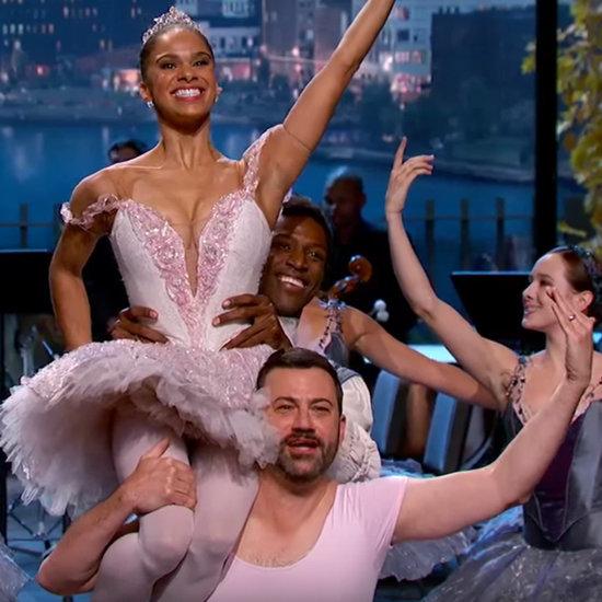 Misty Copeland Gives Jimmy Kimmel Ballet Lesson