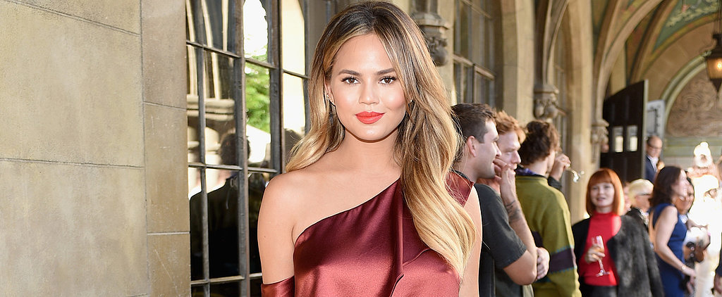 "Chrissy Teigen Invented the ""Crotch Patch,"" and Every Mama-to-Be Needs to Know About It"
