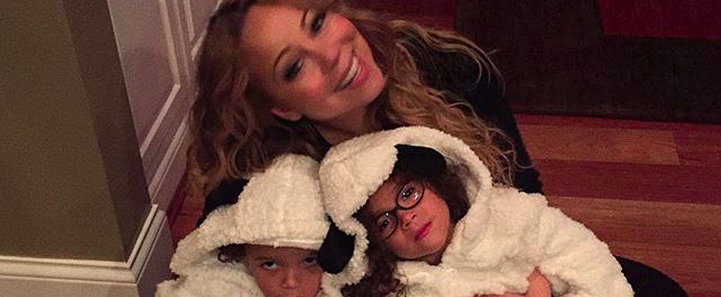 Mariah Carey Celebrates the Fall Season With Her Adorable Twins