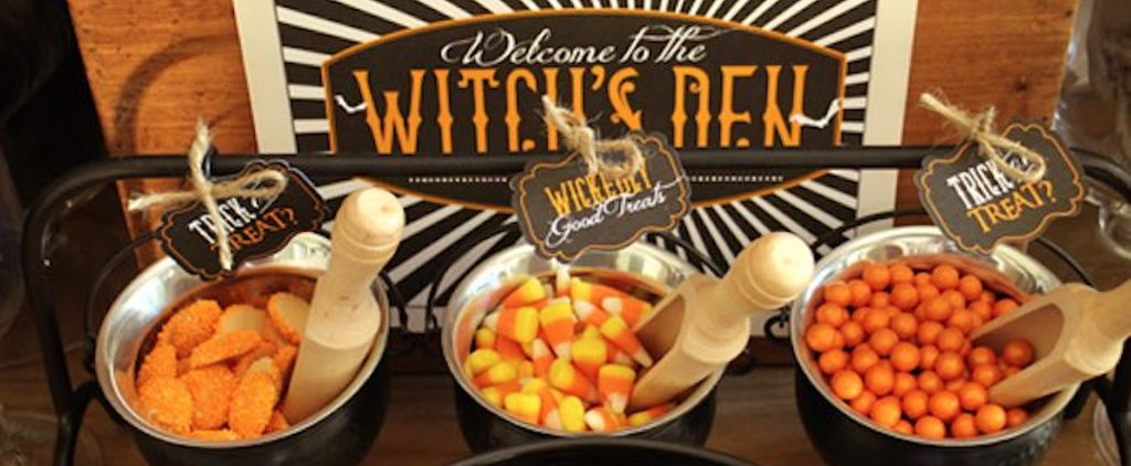 Cast a Magical Spell on Your Guests With These Witch's Den Halloween Party Ideas