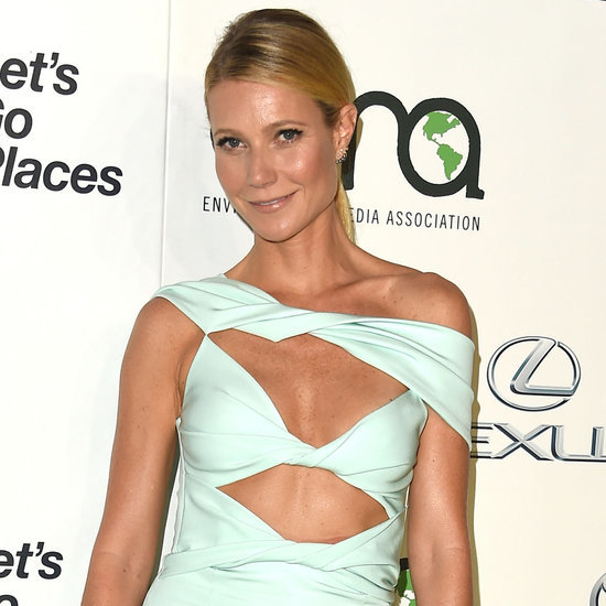 Gwyneth Paltrow in Cushnie et Ochs Cutout Dress