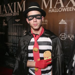 Nick Jonas Hamburglar Halloween Costume Pictures