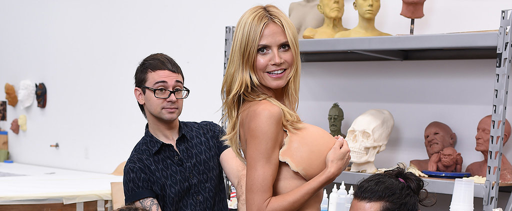 Heidi Klum Shares Sneak Peeks at Her 2015 Halloween Costume