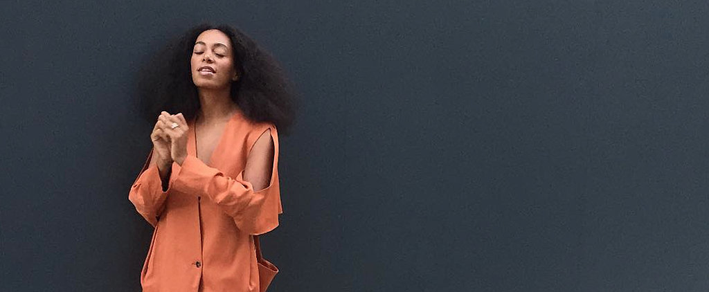 Solange Proves the Color You're Afraid to Rock Is Totally Wearable