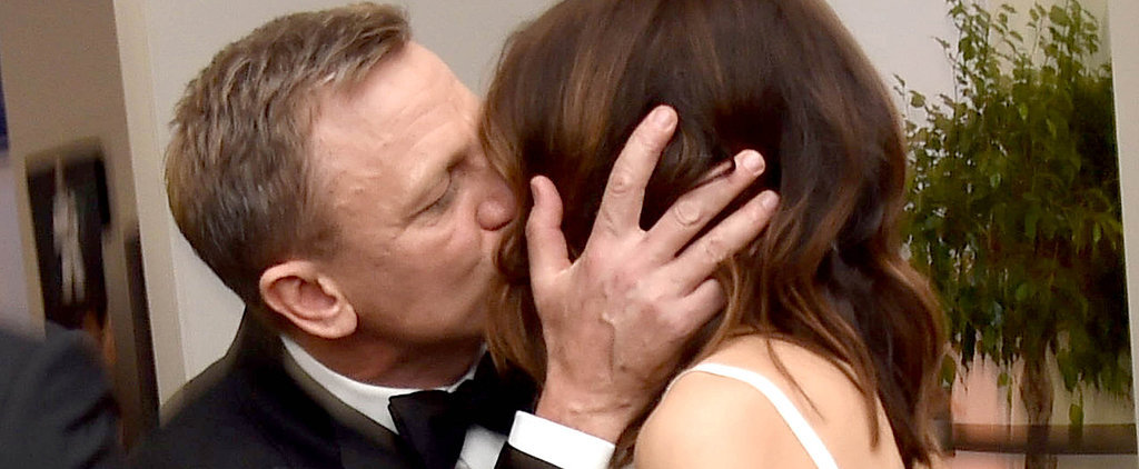 Daniel Craig and Rachel Weisz Are All About the PDA at the Spectre Premiere