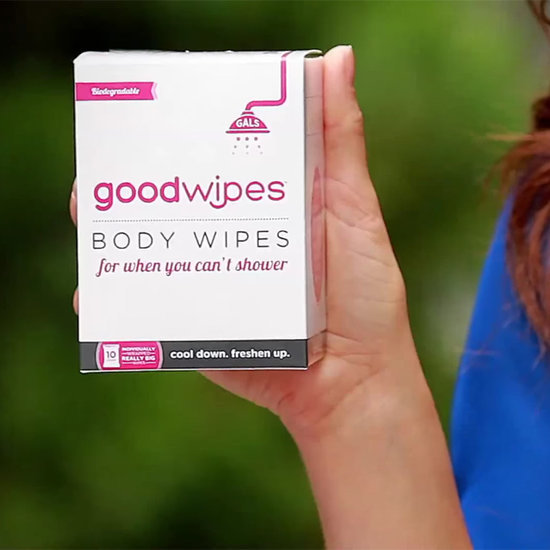 Goodwipes Video For Boob-Sweat Wipes