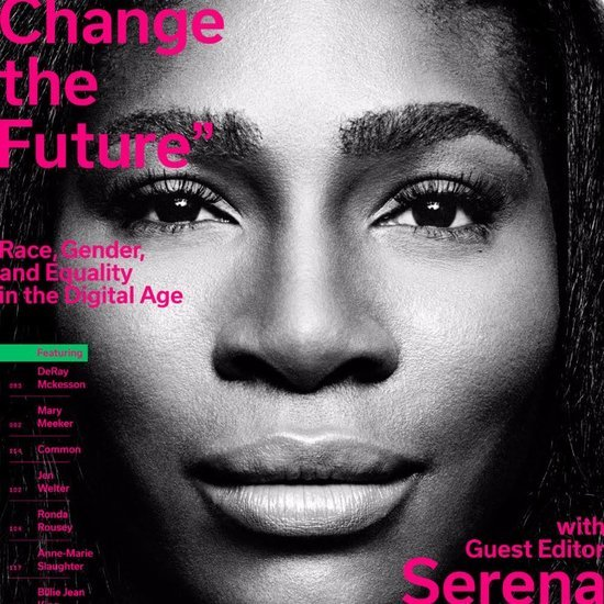 Serena Williams on Cover of Wired Magazine