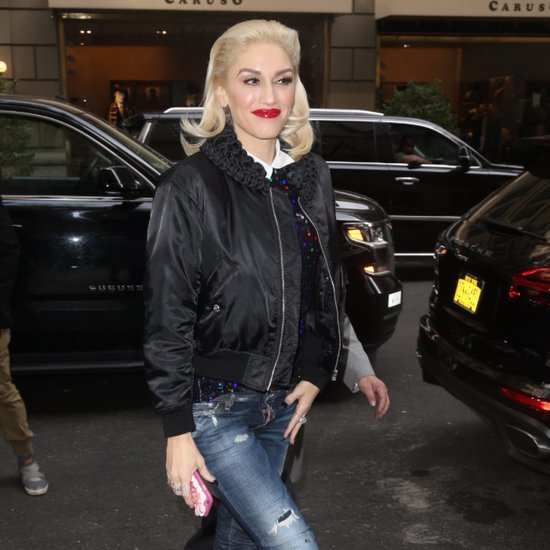 Gwen Stefani Out in NYC October 2015