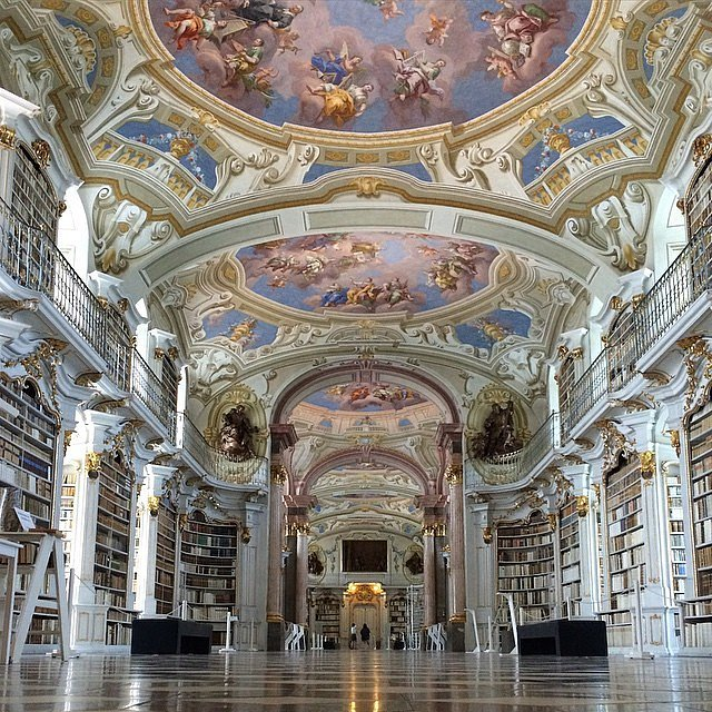 Admont Austria  city photos gallery : Admont Abbey Library, Austria | 11 of the World's Most Beautiful ...