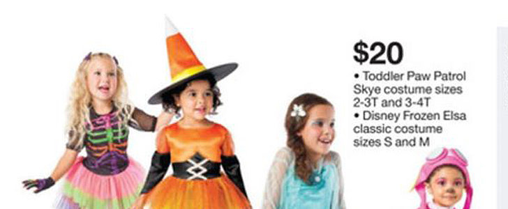 Why This Mom Had to Do a Double Take at This Target Ad For Kids' Halloween Costumes