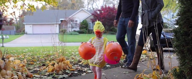 This Is the Real Reason Parents Take Their Babies Trick-or-Treating
