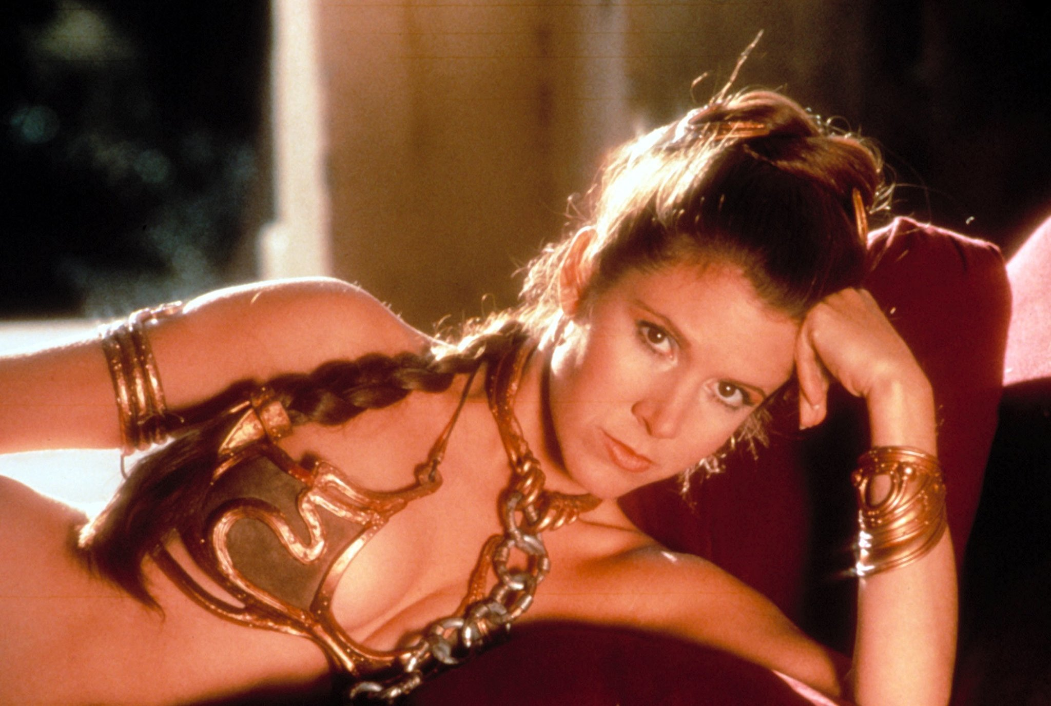 naked Carrie Fisher