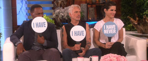"""Sandra Bullock and Her Costars Play a Very Revealing Game of """"Never Have I Ever"""""""